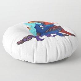 The Epic Prodigy Dragon Floor Pillow