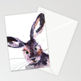 Inky Hare Stationery Cards