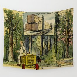 Seeing America First, With the Berry Brothers (1917) Wall Tapestry