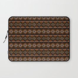 African Mud Cloth Inspired   Earth Art Laptop Sleeve