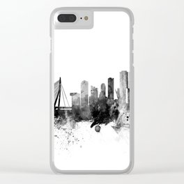 Rotterdam The Netherlands Skyline Clear iPhone Case