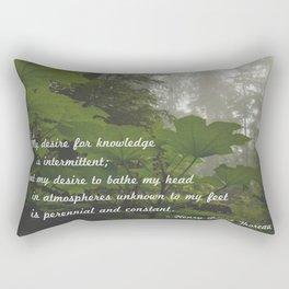 Perennial and Constant Rectangular Pillow