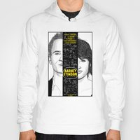 himym Hoodies featuring Barney Stinson Playbook (Silver Linings Playbook + HIMYM) by HuckBlade