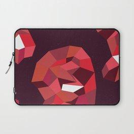Geometric Reds  Laptop Sleeve
