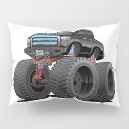 Monster Pickup Truck Cartoon Pillow Sham