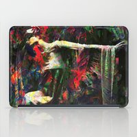kandinsky iPad Cases featuring Lady of the Garden by Mark Compton