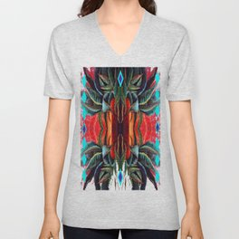 Southwest Metamorphosis abstract Unisex V-Neck