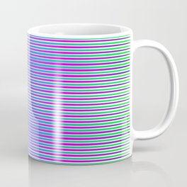 Neon Striping Version 2 Coffee Mug