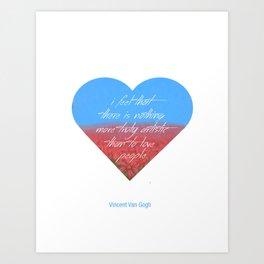 Love is Artistic Art Print