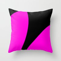 contemporary Throw Pillows featuring Contemporary by lillianhibiscus