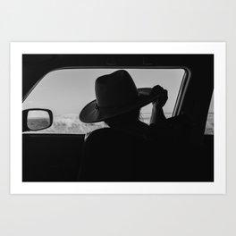 West Texas Explorer Art Print