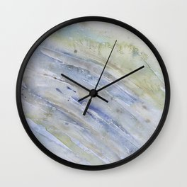 watery texture Wall Clock