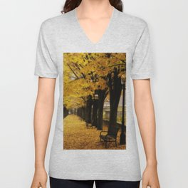 Autumn's Gold Unisex V-Neck