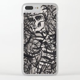 ...static (Ellipsis series) Clear iPhone Case