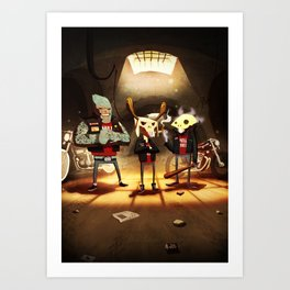 Hell's Mate Art Print