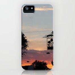 A London sky. iPhone Case