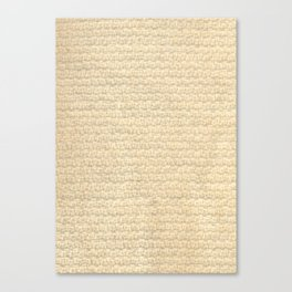 Woven Knit Canvas Print