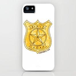Bad Cop iPhone Case