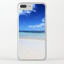 Take me to Paradise Clear iPhone Case