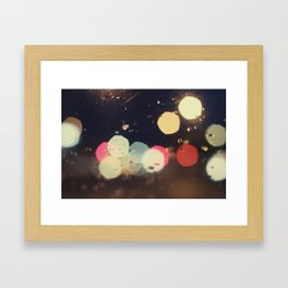 Bokehland Framed Art Print