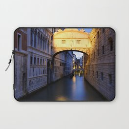 The Bridge of Sighs Laptop Sleeve