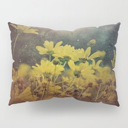 Abstract Yellow Daisies Pillow Sham