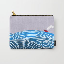les vagues Carry-All Pouch