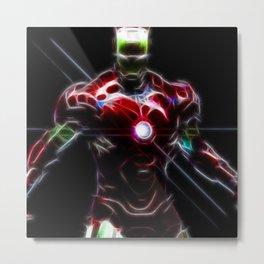 Superheroes - Ironman Metal Print