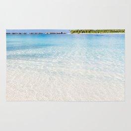 Tropical Beach Paradise Rug