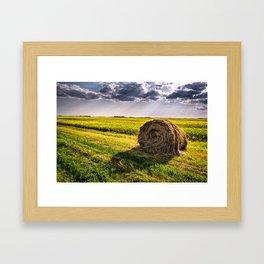Beautiful Nothing- North Dakota Framed Art Print