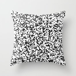 spotted fur Throw Pillow