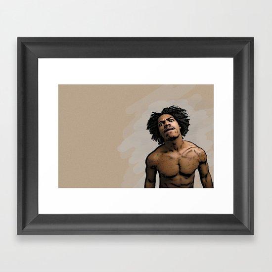 Mean Mug Framed Art Print