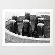 Bucket of root beer Art Print