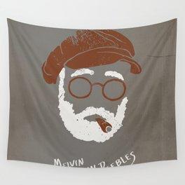 Melvin Van Peebles Minimalist Portrait Wall Tapestry