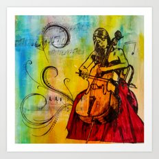 Orchestrated Art Print