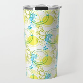 Swirls & Circles Travel Mug