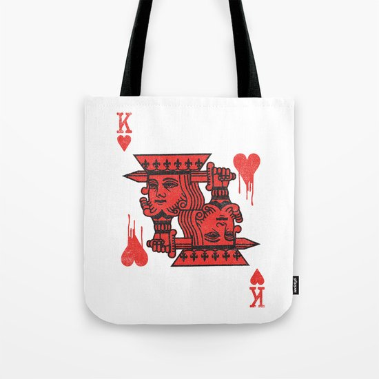 LOVE IS AN OPEN WOUND Tote Bag