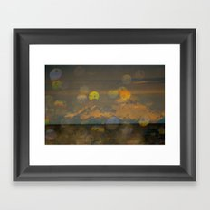 Mt Redoubt Framed Art Print