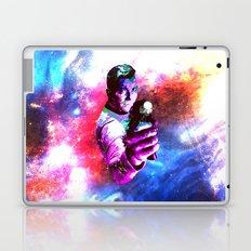 Color jump, James T Kirk Laptop & iPad Skin
