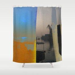 Giudecca Horizonte Shower Curtain