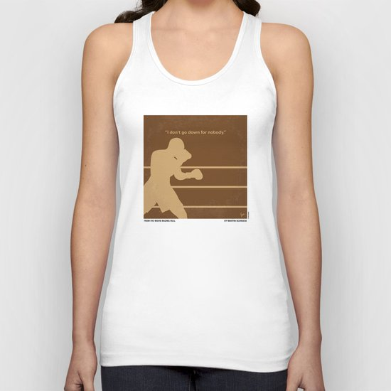 No174 My Raging Bull minimal movie poster Unisex Tank Top