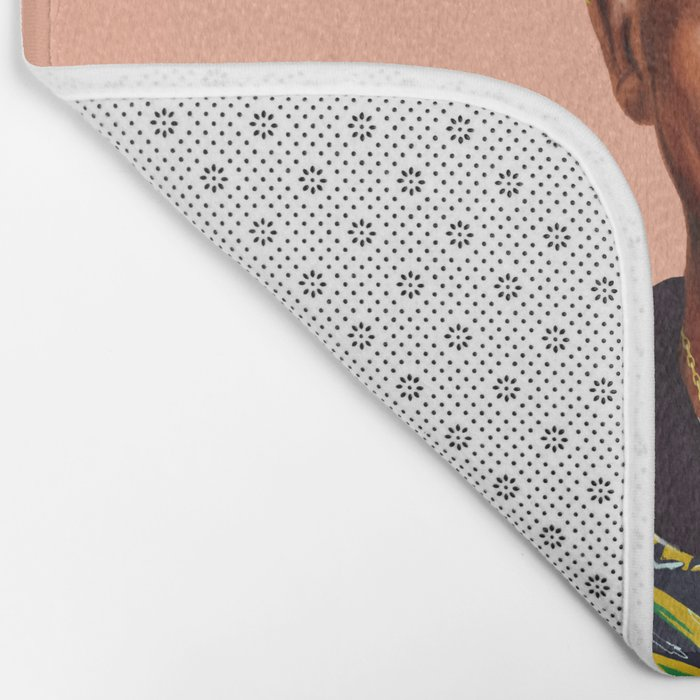 Hipstory - Nelson Mandela Bath Mat