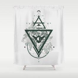 Foraged Hues Shower Curtain