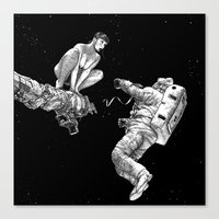 apollonia Canvas Prints featuring asc 578 - La séparation (Cutting the cord) by From Apollonia with Love