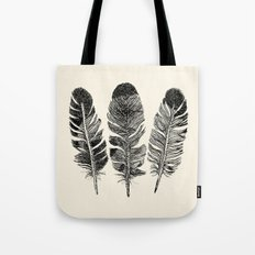 Feather Eagle Tote Bag