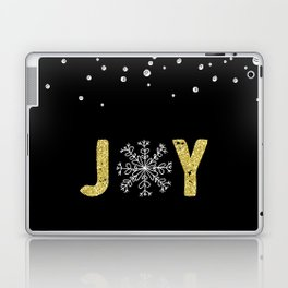 JOY w/White Snowflakes Laptop & iPad Skin