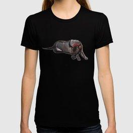 watercolor dog vol 12 ridgeback T-shirt