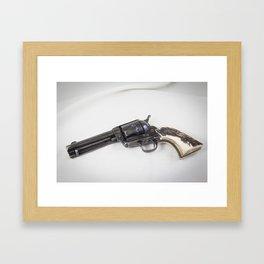 Guns Of The Old West - Colt .45, #4 Framed Art Print