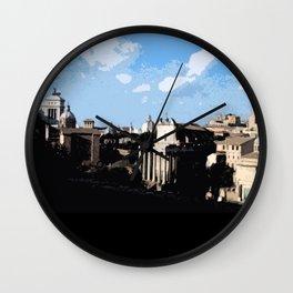 Ciao Roma Wall Clock