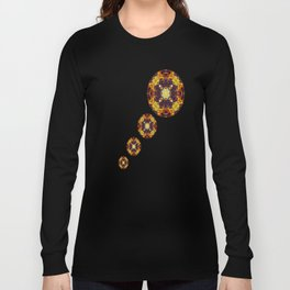Patterned Paintography  Long Sleeve T-shirt